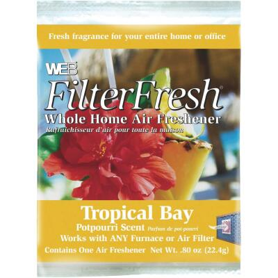 Web FilterFresh Furnace Air Freshener, Tropical Bay
