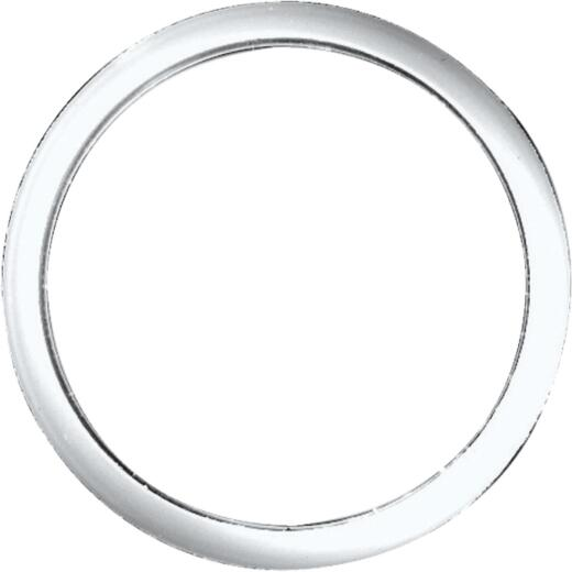 Danco 1-1/4 In. x 1-1/4 In. Clear/White Polyethylene Slip Joint Washer