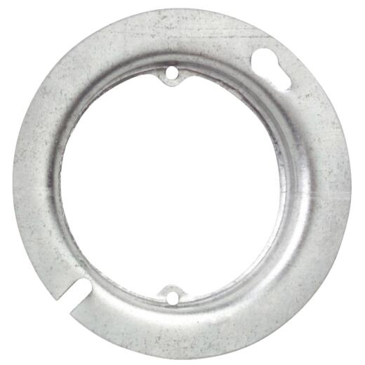Raco 5/8 In. x 4 In. Open Round Steel Raised Cover
