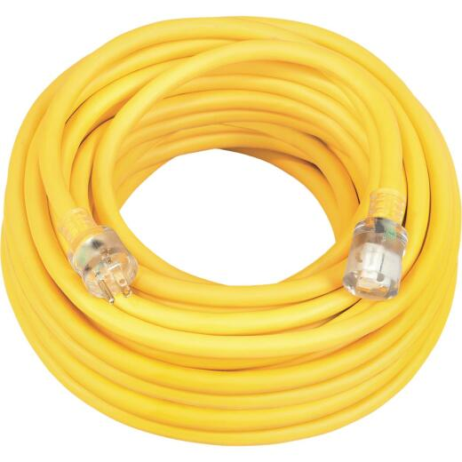 Coleman Cable 25 Ft. 10/3 Cold Weather Extension Cord