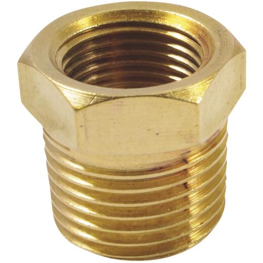 Forney Brass 3/8 In. FNPT x 1/2 In. MNPT Bushing