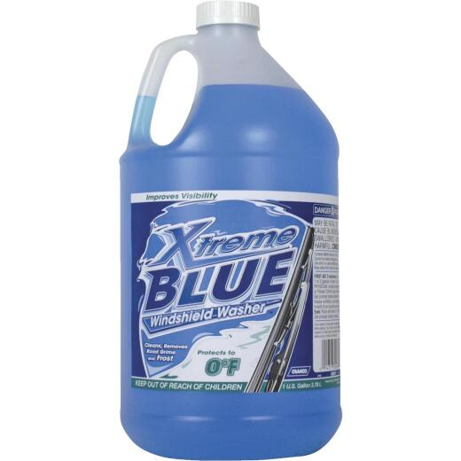 Camco Xtreme Blue 1 Gal. 0 Deg F Temperature Rating Windshield Washer Fluid with Antifreeze