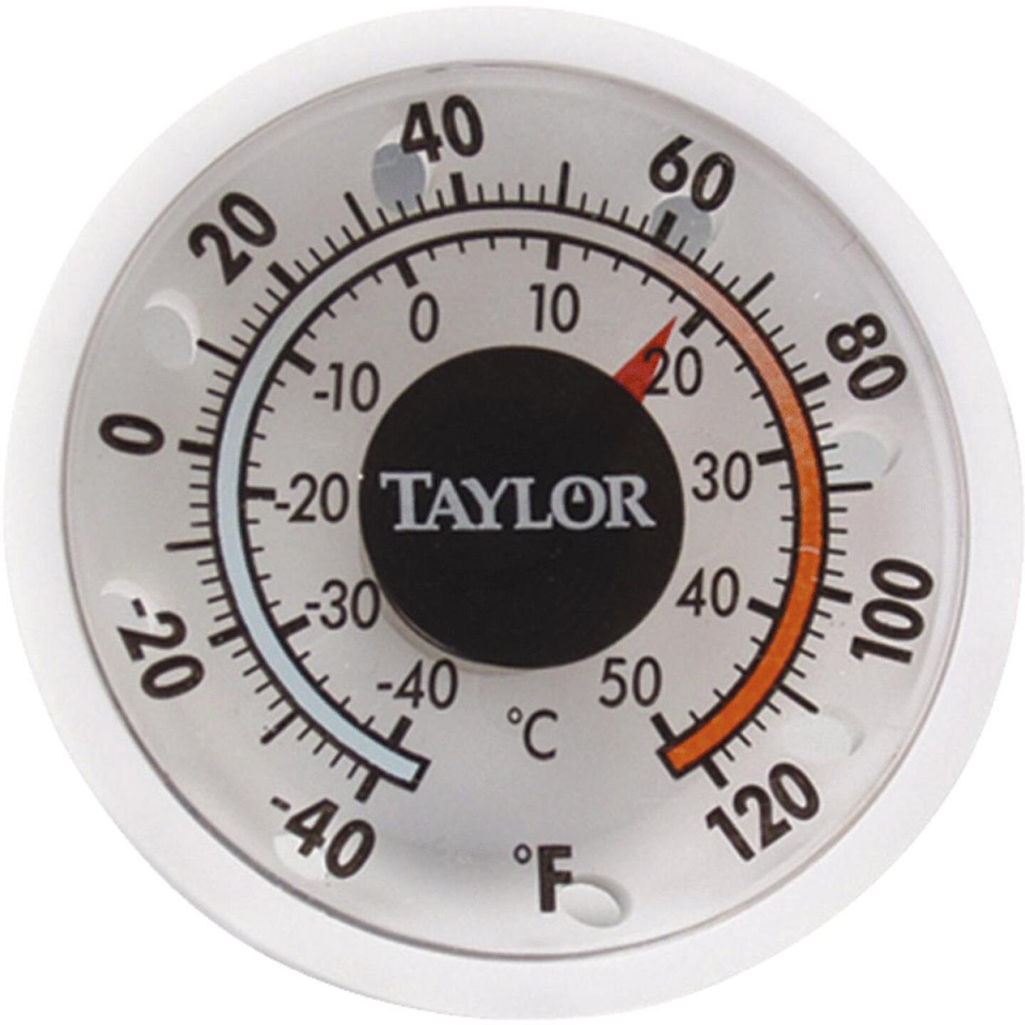 Taylor 1-3/4 In. Dia. Stick-on Thermometer Image 1