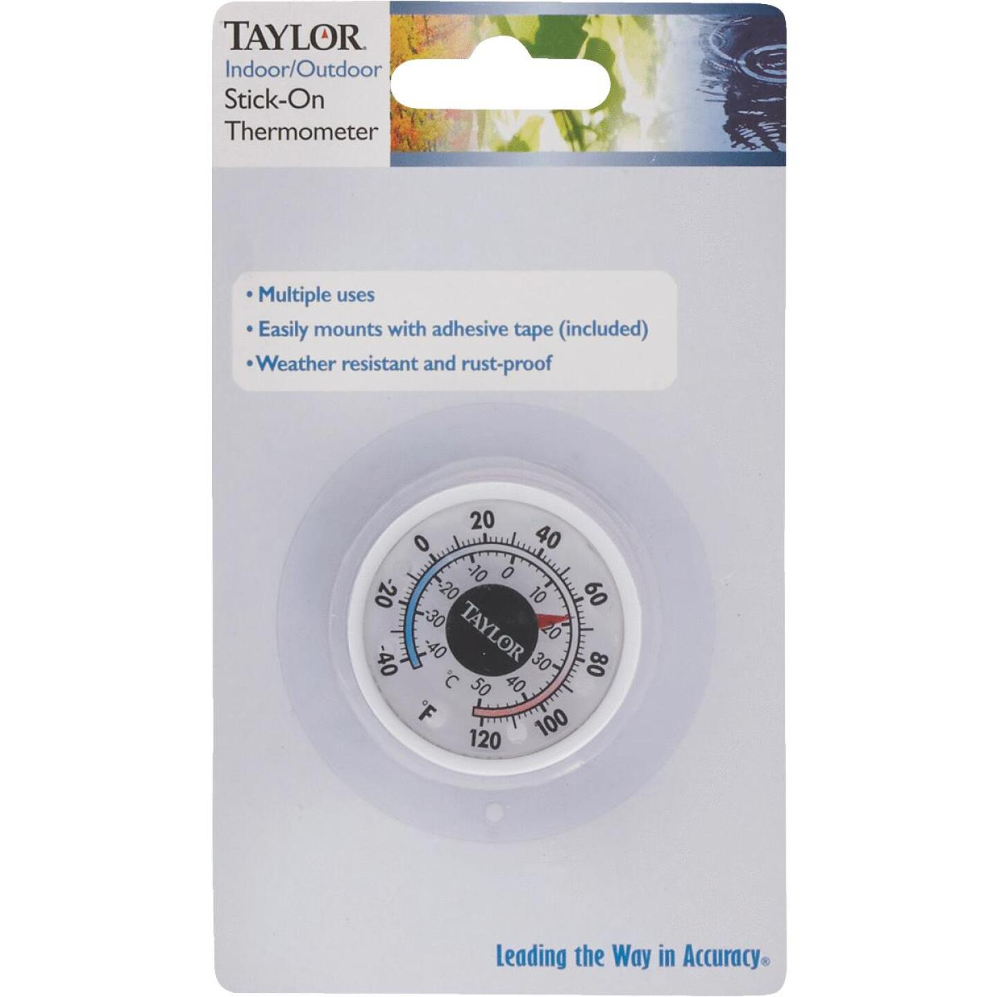 Taylor 1-3/4 In. Dia. Stick-on Thermometer Image 2