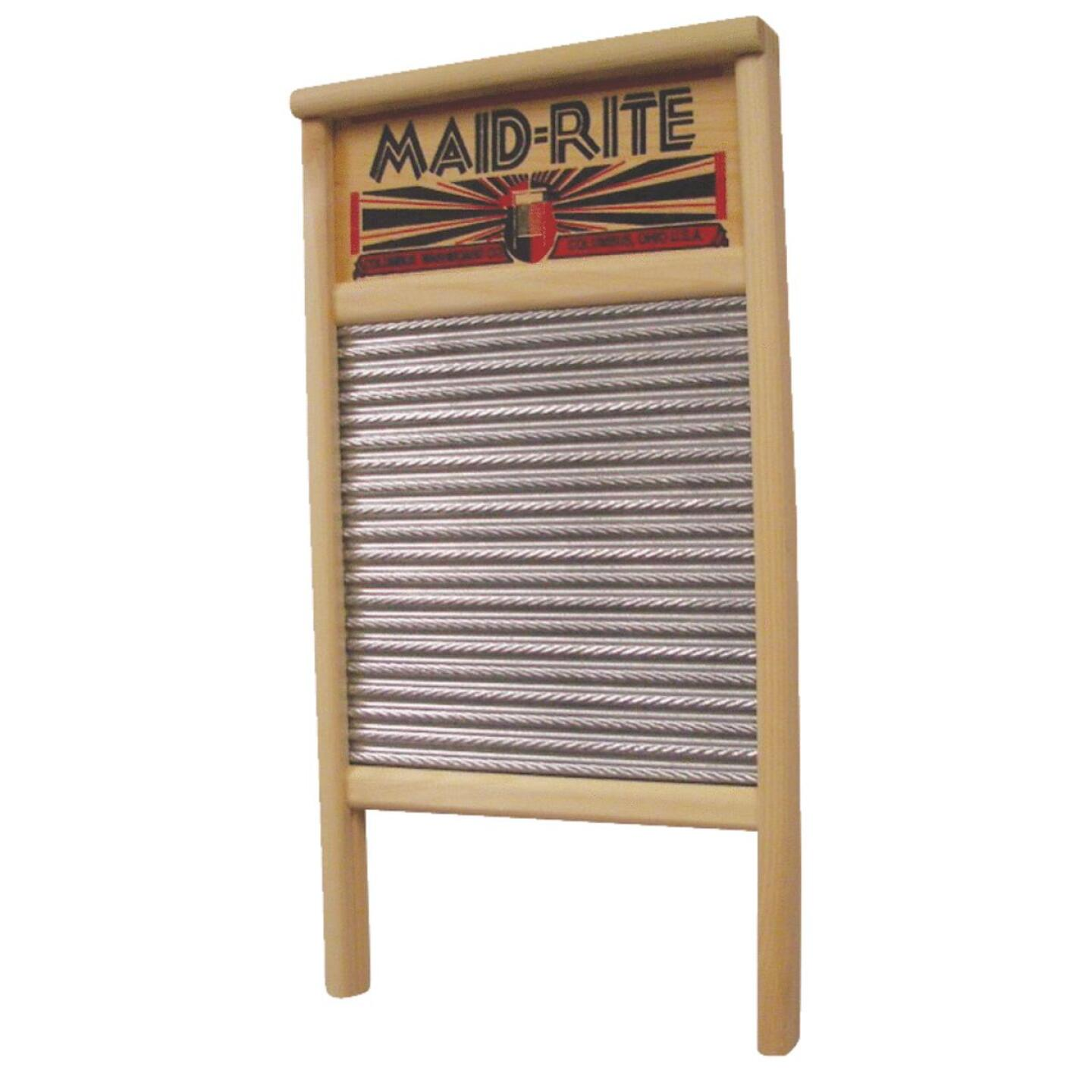 Columbus Maid-Rite 12-7/16 In. x 23-3/4 In. Family Size Washboard Image 1