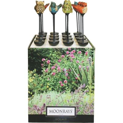 Moonrays Ceramic 36 In. H. Solar Stake Light Lawn Ornament