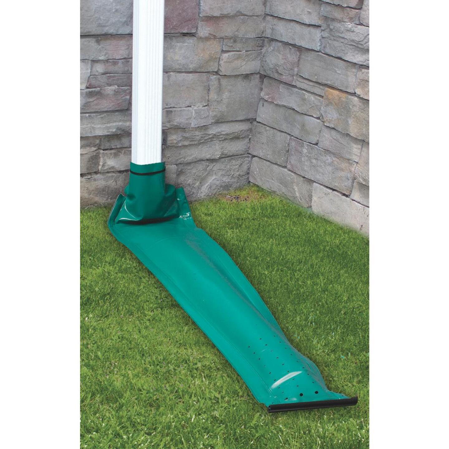 Frost King Auto Rain Control 46 In. K-Style Vinyl Downspout Extension  Image 2