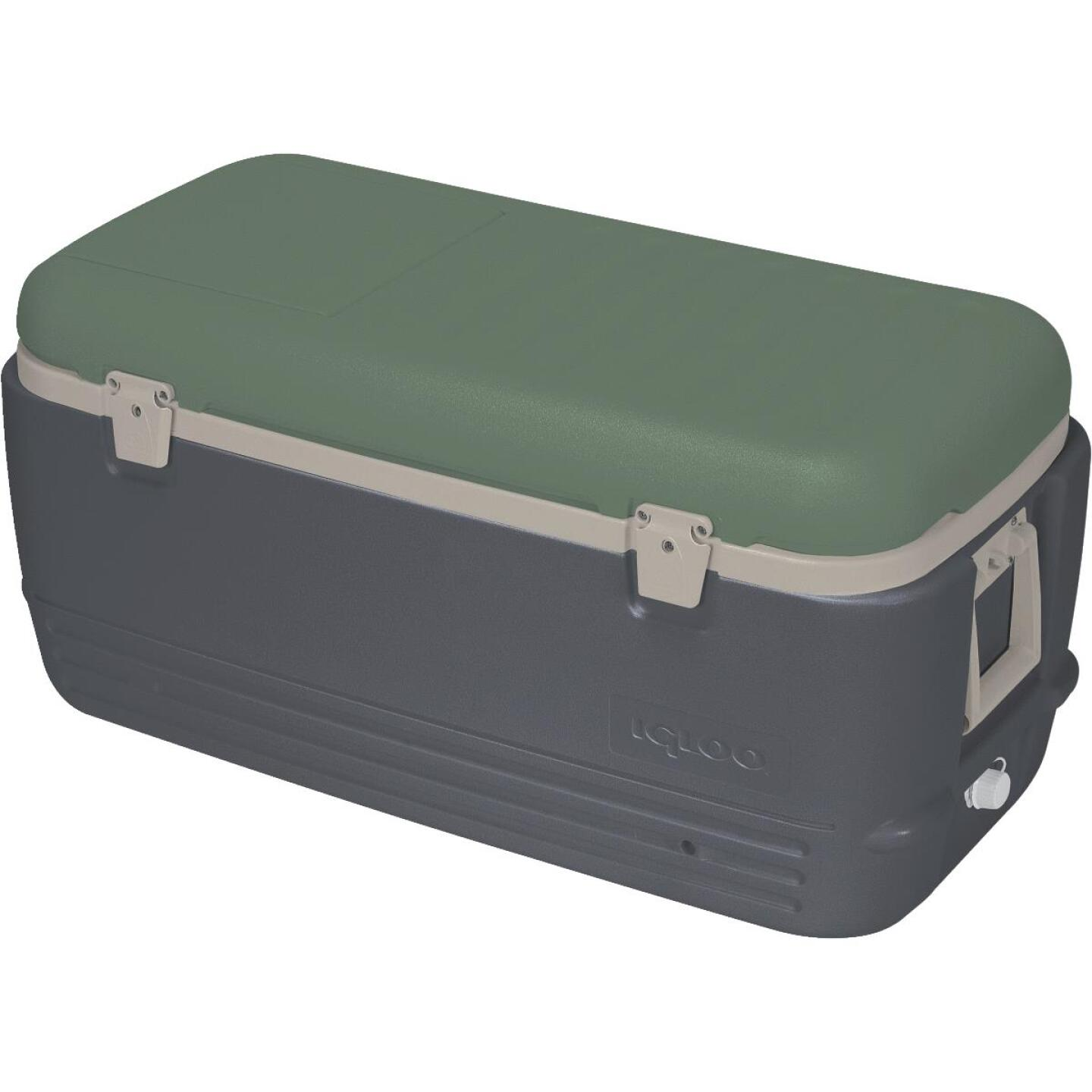 Igloo Sportsman 100 Qt. Ice Chest Cooler, Gray Image 1